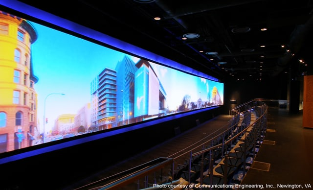 stewart filmscreen creates the largest seamless screens in the world
