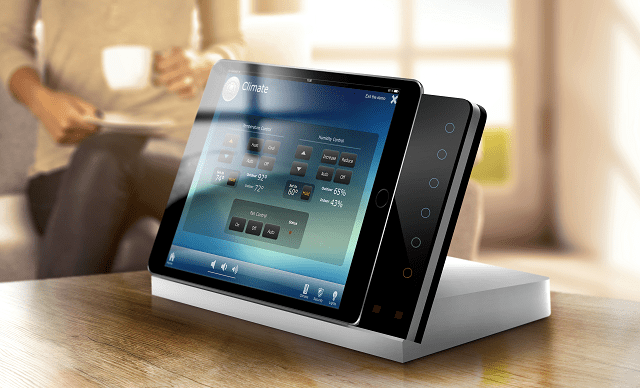 iroom unveils ipad docking station with control keypad connected magazine. Black Bedroom Furniture Sets. Home Design Ideas