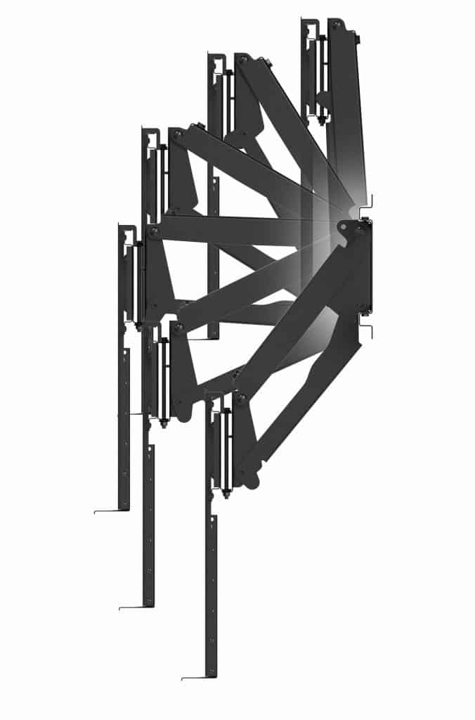 mantelmount introduces two new pull down mounts to lineup. Black Bedroom Furniture Sets. Home Design Ideas