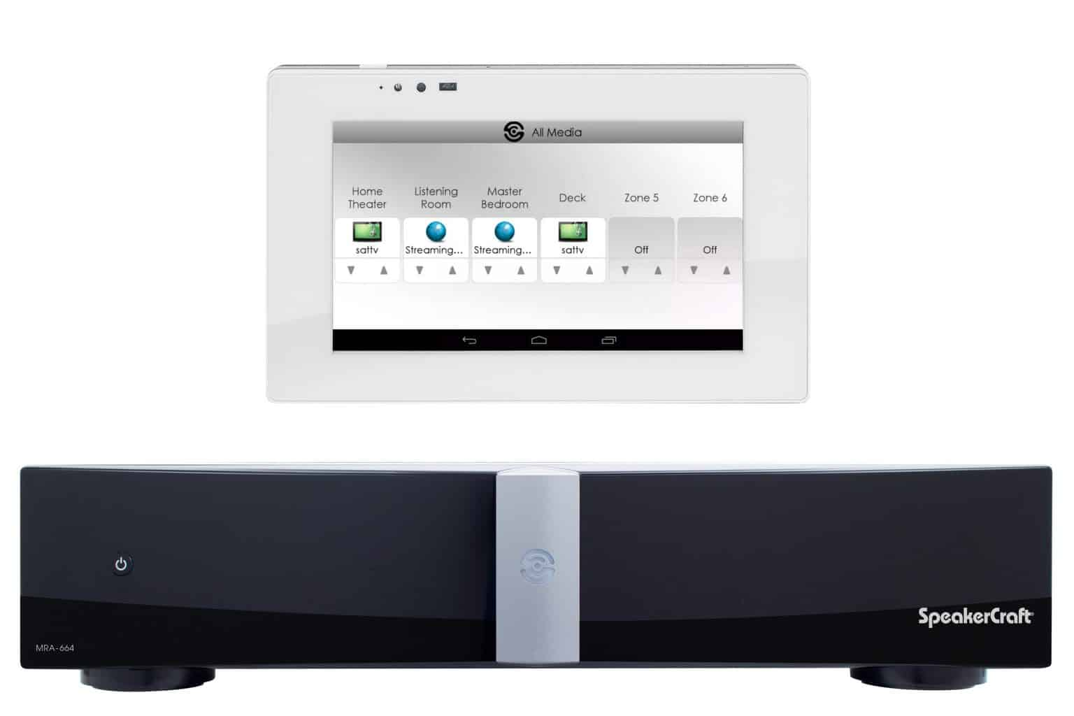 speakercraft adds streaming services to its multi room audio platform connected magazine. Black Bedroom Furniture Sets. Home Design Ideas