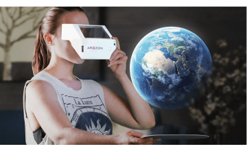 Aryzon introduces the 'cardboard for augmented reality'