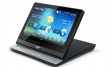 RTI now shipping the CX10 touch panel