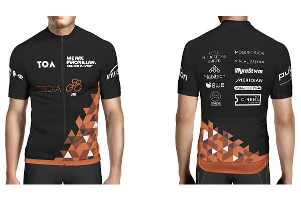 Sponsors confirmed for CEDIA charity cycle