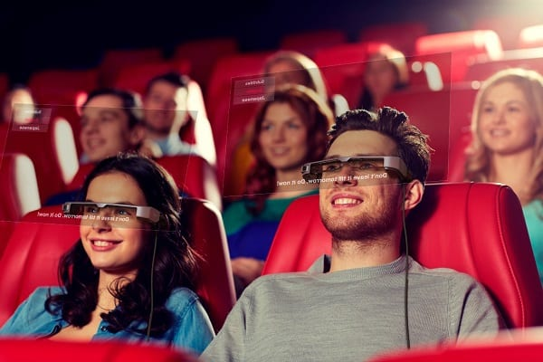 Epson Moverio AR smart glasses used in London National Theatre trial