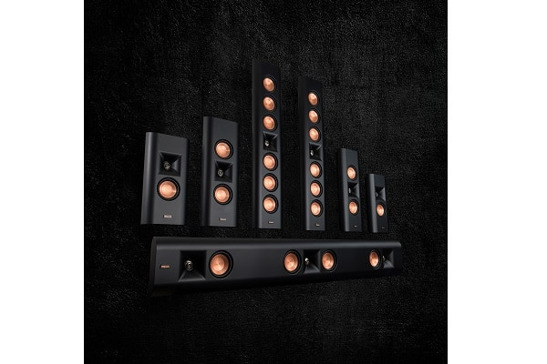 Klipsch debuts on-wall speakers that compliment flat panel TV's sound and aesthetic