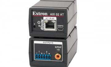 Extron introduces compact two-channel Dante audio interface