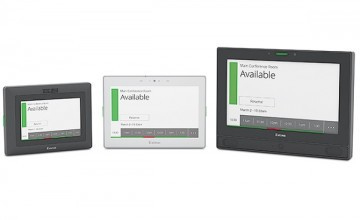Extron announces new room scheduling panels that make booking a room easier than ever