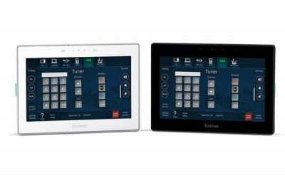 New Extron 7 wall mount touch panel is available now