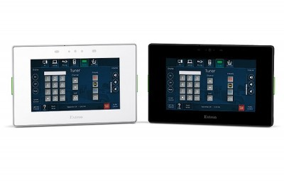 Extron releases new 5 wall mount touch panel