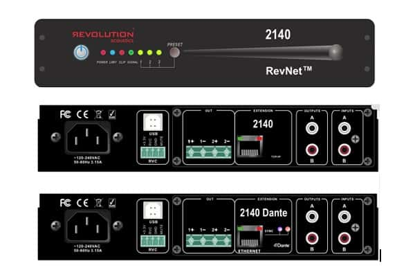 Revolution Acoustics announces new products for InfoComm 2018