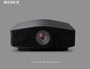 Sony Releases New Home Cinema Projector Models Connected